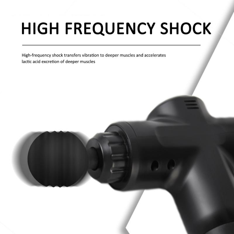 4Head LCD Muscle Massage Gun Percussion Massager Muscle Relaxing Therapy Deep Tissue Shaping Massager Relief Slimming Fascia Gun