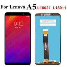 "5.45 ""Voor Lenovo A5 L18021 L18011 / A5s L18081LCD Display Touch Screen Panel Digitizer Vergadering Voor Lenovo A5 Lcd"
