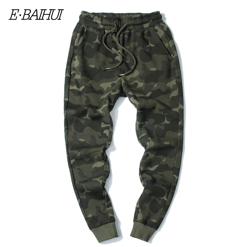 E-BAIHUI Mens Jogger Autumn Pencil Harem Pants Men Camouflage Military Pants Loose Comfortable Cargo Trousers Camo Joggers MJ002