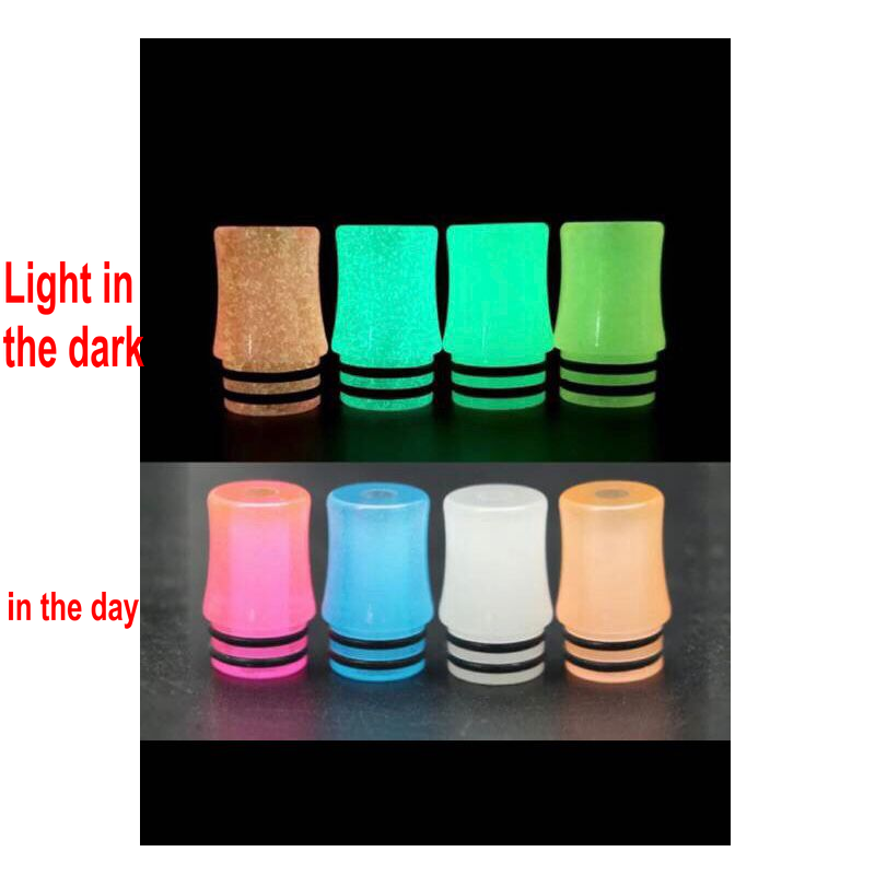 Luminous 510 Drip Tip MTL Vape Tip Pod Drip Tip For Pod Mod Kit RDA RBA RTA Tank Atomizers Ecigs Accessory