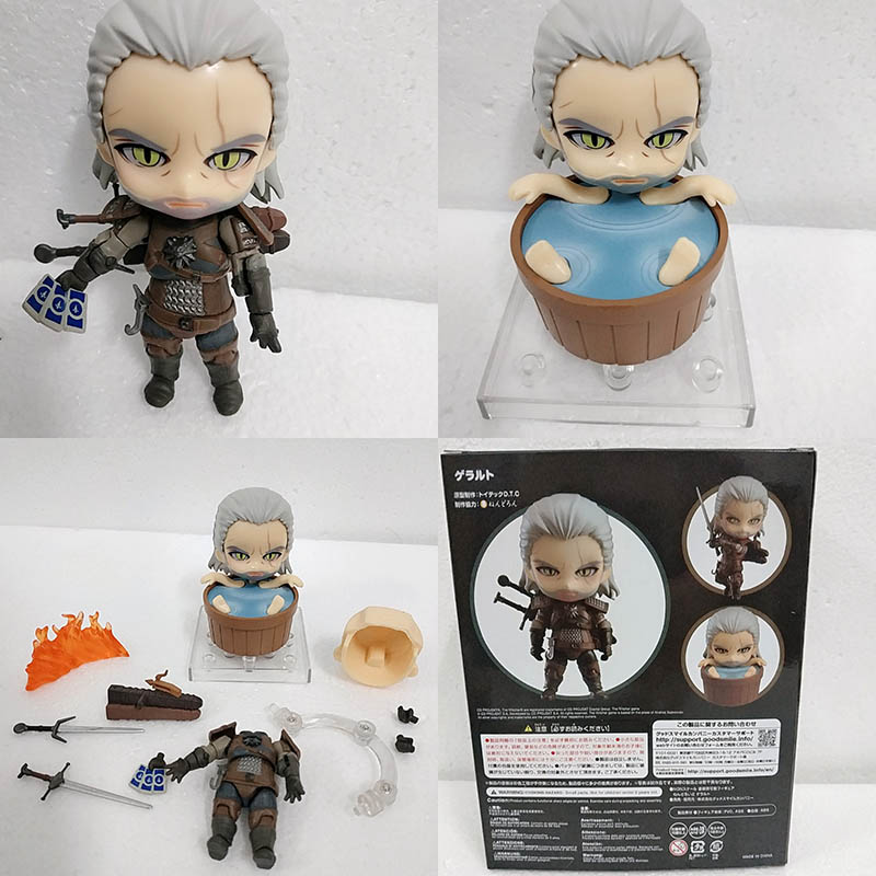 Witcher-ed 3 Wild Hunt 907 Geralt White Wolf Geral Action Figure Model Toys Doll For Gift