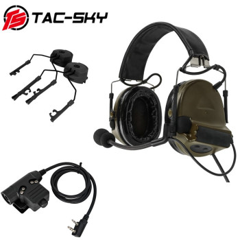 TAC-SKY COMTAC  tactical headset comtac ii + u94 ptt tactical ptt u94 + ARC OPS-CORE helmet track adapter headset bracket   FG декоративная решетка techno для конвектора 250х2000 рра 250 2000 с