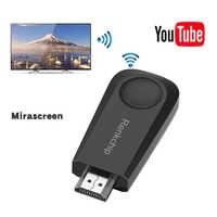 Mirascreen TV Stick con WIFI pantalla inalámbrica receptor de compartir pantalla mismo dispositivo de pantalla compatible con Hdmi proyectores HD Stick Dongles
