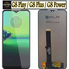 ORIGINAl For Motolola Moto G8 Power LCD Display Touch Screen for Moto G8 Play XT2015 Lcd Digiziter Assembly For Moto G8 Plus Lcd