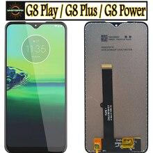 Originale Per Motolola Moto G8 di Alimentazione del Display LCD Touch Screen per Moto G8 Gioco XT2015 Lcd Digiziter Assembly Per Moto g8 Più Lcd