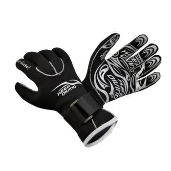 3MM Neoprene Scuba Dive Gloves Swim Snorkeling Equipment Anti Scratch Keep Warm Wetsuit Material Winter Spearfishing