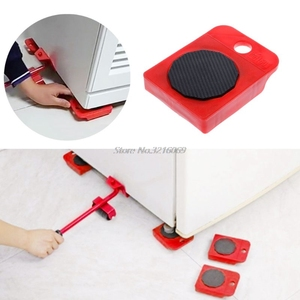 4pcsMoves мебельный инструмент транспортировка переключения движущиеся колеса слайдер съемник ролик тяжелый