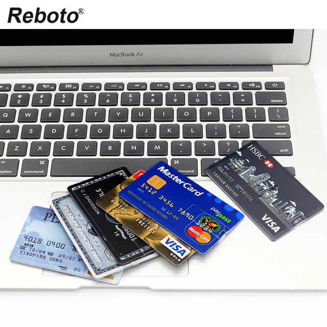USB Flash Drive High Speed Bank Credit Card USB Flash Pen Drive 4GB 8GB 16GB Pendrive 32GB 64GB USB флэшка Memory Disk USB Stick 5