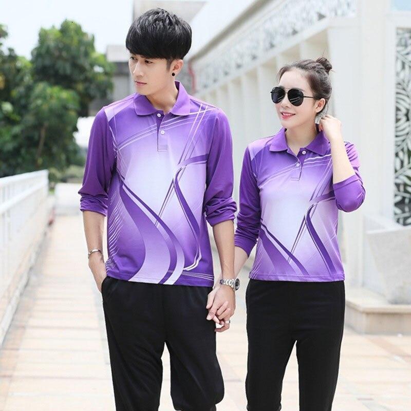 camisa y pantalones de bádminton de manga larga camiseta de tenis de - Ropa deportiva y accesorios