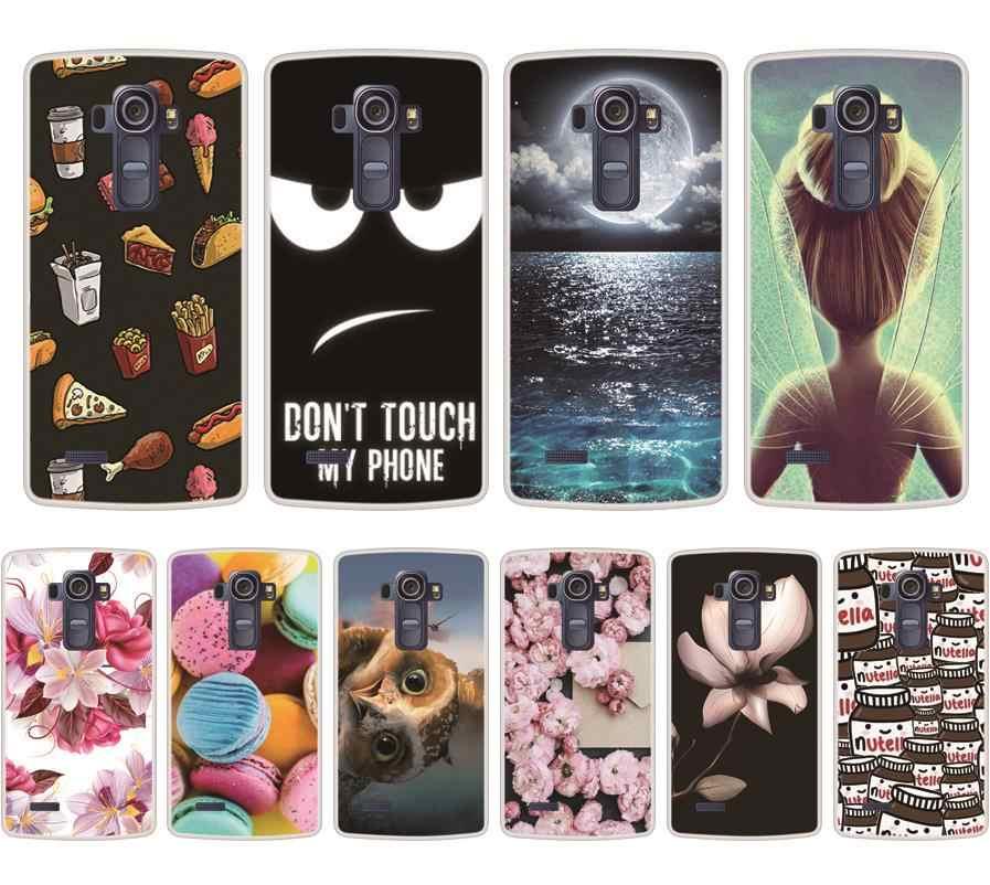 Telefon Fall Für LG G4 Weiche Silikon TPU Chic Gemusterten Painted Für LG G4 H815 Fall Abdeckung Auf Lager