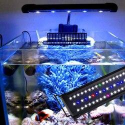 30CM 45CM 70CM oświetlenie led do akwarium Bar pełne spektrum oświetlenie do akwarium do wody słodkiej w Oświetlenie sceniczne od Lampy i oświetlenie na