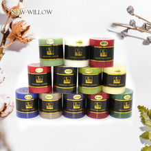2PCS/LOT Aroma Smokeless Pillar Wedding Candle Essential Oil Scented Candles Deodorizing Paraffin Wax Fragrance Home Decor
