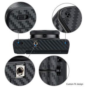 Image 5 - Chống Trầy Xước Thân Máy Da Sợi Carbon Phim Dán Bộ Cho Sony RX100 Mark VII VI RX100M6 RX100M7 Cho máy Ảnh Trang Trí