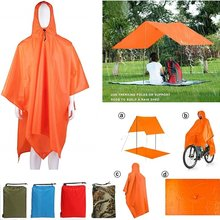 Camping 210D Nylon Regen Parasol Tent 3 In 1 Multifunctionele Regenjas Mini Tarp Multifunctionele Zon Onderdak Tarp(China)