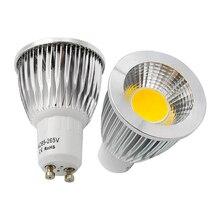 9 Вт 12 Вт 15 Вт GU10 светодиодный COB прожектор точечный регулируемый светильник Ламповые люстры Замена 30 Вт 40 Вт 50 Вт галогенная лампа AC 85-265 в