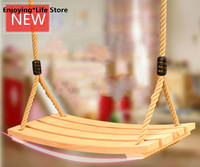 High end Solid Wood Arc Children's Swing Indoor and Outdoor Adult Kids Hanging Chair Outdoor Furniture Swing Chair