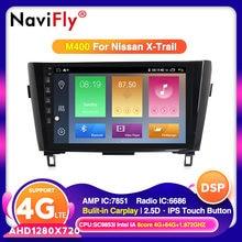 4G LTE Android 10 für Nissan X-Trail XTrail T32 Qashqai J11 T31 J10 2013-2017 Auto DVD Player Navigation GPS Radio Audio Canbus