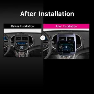 """Image 5 - Seicane Android 9.1 9 """"Auto Gps Multimedia Speler Voor 2010 2011 2012 2013 Chevy Chevrolet Aveo Navigatie Stereo Ondersteuning dvr Swc"""