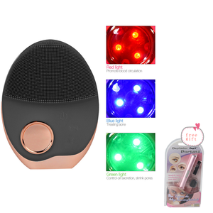 Image 1 - Electric Facial Cleansing Brush Wash Face Cleaning Machine Pore Cleaner Acne Remover Cleansing Massage Face Skin Beauty Massager