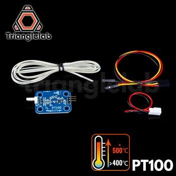 Trianglelab 3D printer V6 hotend PT100 sensor upgrade kit temperature control panel for E3D HOTEND heating block - discount item  5% OFF Office Electronics