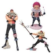 цена на Anime One Piece figure doll Charlotte Katakuri one piece Portrait of Pirates PVC Action figure toys doll Christmas gift