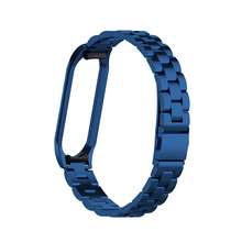 Metal Wrist Bracelet Stainless Steel Replacement Strap For Xiaomi Mi Band 4 2019 Accessories Supplies