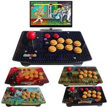 Panel de arte acrílico controlador de juegos con cable 10 botones USB totalmente personalizado
