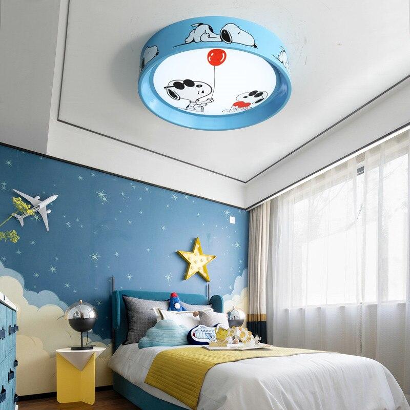 Потолочный светильник с изображением животных Дисней Снупи из мультфильма для девочек и мальчиков, детская комната, спальня, детская