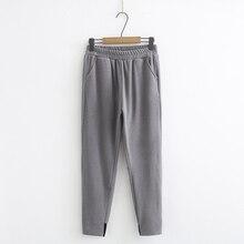 Plus size Pants elastic waist 5XL 6XL grey black women pants casual side stripe KKFY3946 plus rainbow stripe side drawstring pants