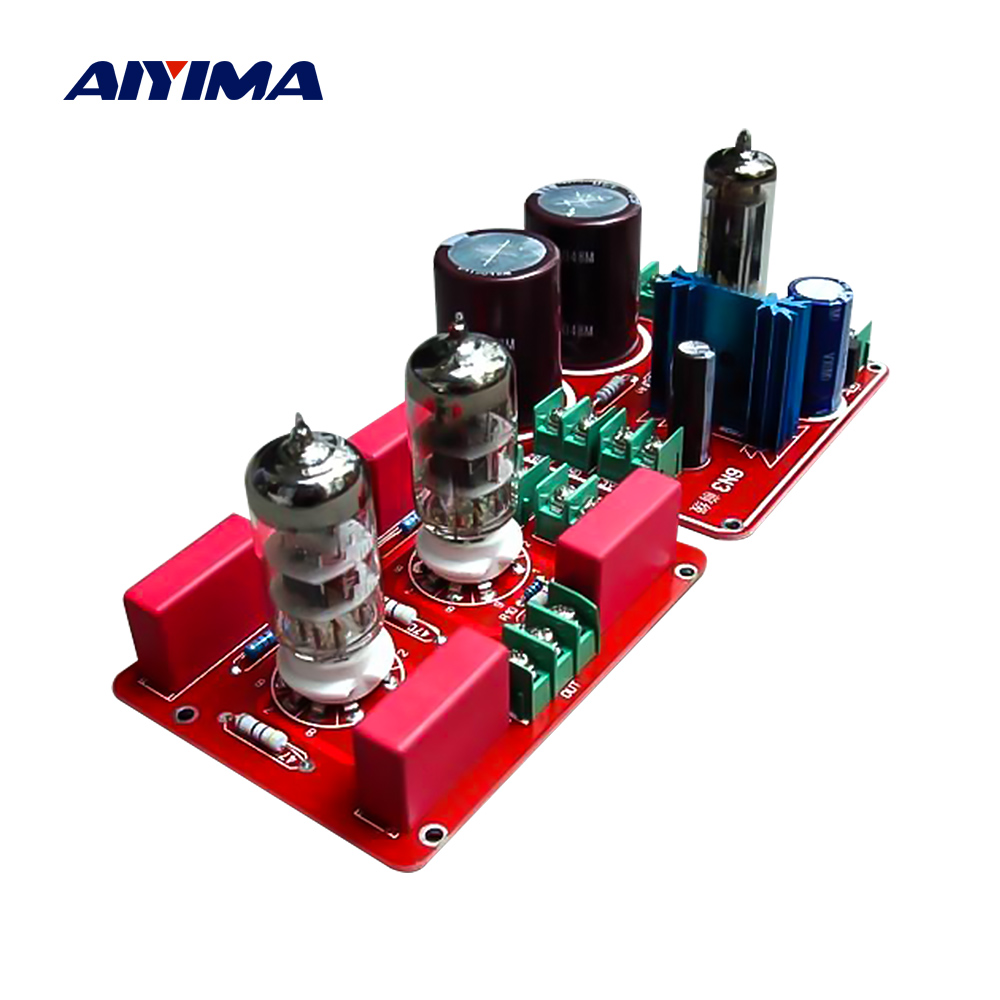 AIYIMA 6N3 SRPP Tube Preamplifier HiFi Buffer Pream <font><b>Pre</b></font> AMP Speaker <font><b>Amplifier</b></font> Home Sound Theater DIY image