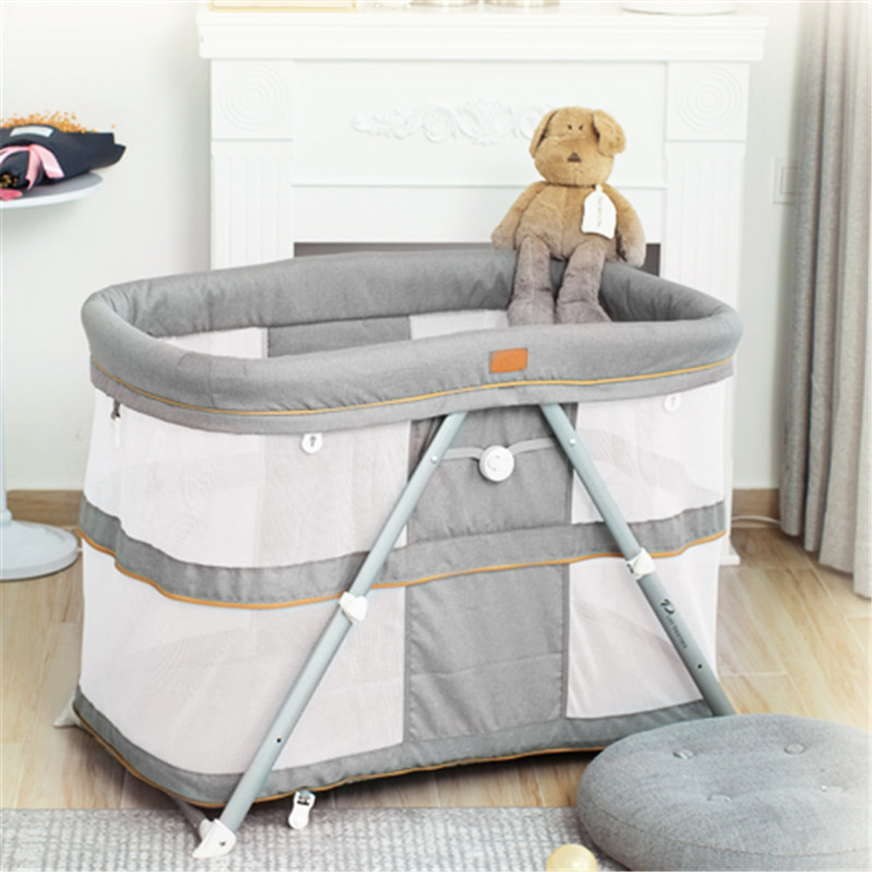 Baby Crib Portable Multi-function Baby Shaker Foldable Game Bed Travel Bed For Children Infant Kids Baby Nest