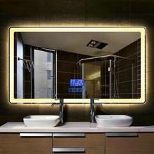 Bathroom-Mirror Smart Two-Color Rectangular LED 60x80cm 50x70cm Refection High-Quality