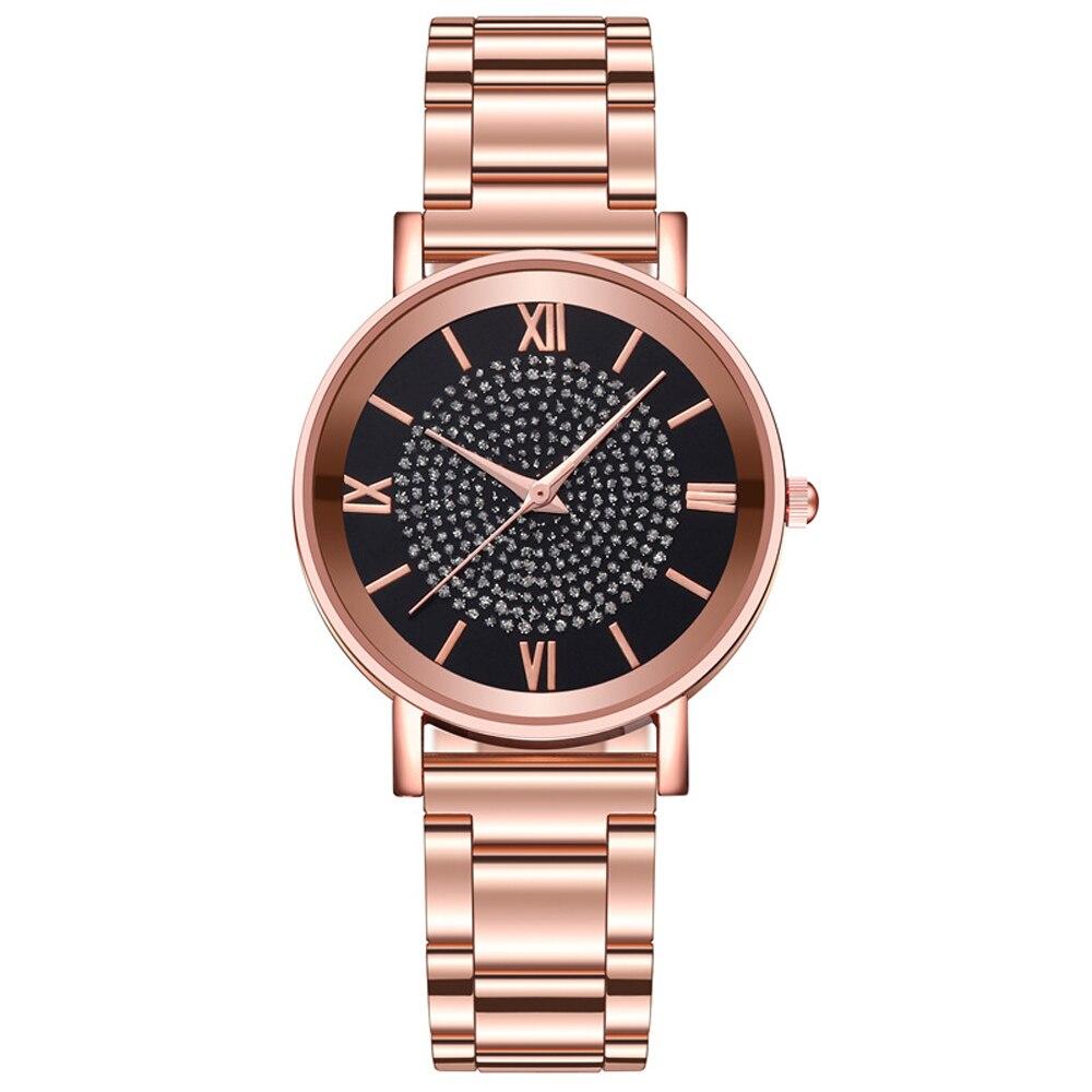 שעון יד נשים זהב יוקרתי  HEZHUKEJI 3