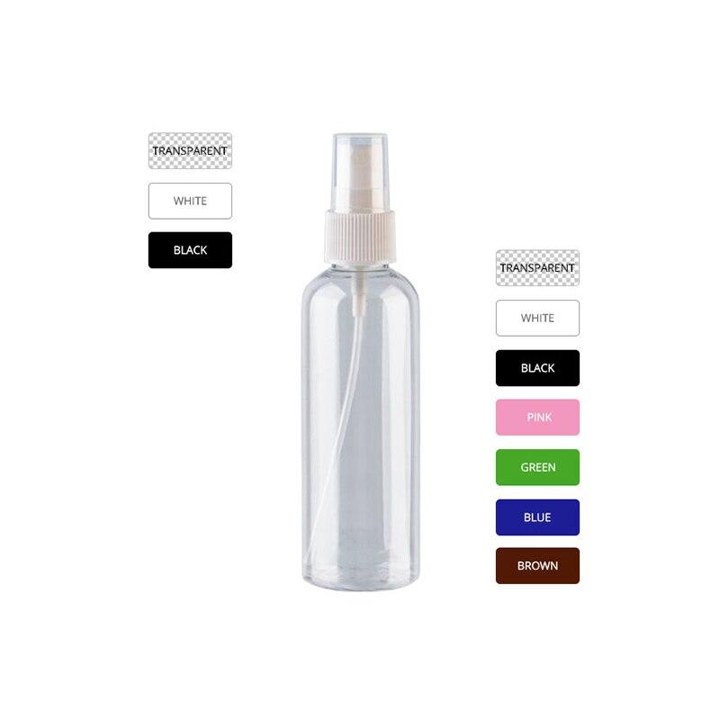 100 ミリリットル × 50 スプレー空ボトル香水のため、 100cc ペットクリア容器噴霧器ポンプチックファインミストスプレーボトル化粧品包装  グループ上の 美容 & 健康 からの 詰め替えボトル の中 3