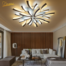 Modern LED Lamp Dandelion Ceiling Chandelier Lighting Loft Living Bedroom Ceiling Lamp Indoor Lighting Decor Restaurant Fixtures