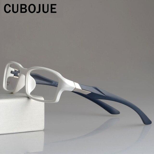 CUBOJUE sports Mens Glasses Frame TR90 eyeglass frames women ultra light prescription spectacles myopia diopter optical eyeglass