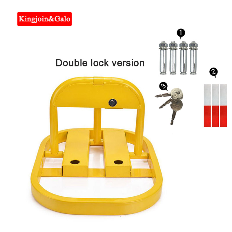 Car Position Lock Ground Lock Parking Space Thick Ground Pile Collision-proof O-type Placeholder Private Block Car Column Garage