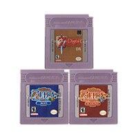 16 Bit Cartuccia del Video Gioco Console Carta di Serie Zeld Inglese/Versione di Lingua Spagnola Per Nintendo GBC