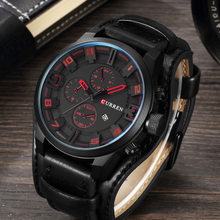 Curren Men Watch Top Brand Luxury Mens Leather Strap Waterproof Sport Man Quartz Watches Military Male Clock Relogio Masculino men watch luxury mens watches male clocks date sport military clock leather strap quartz business top brand relogio masculino