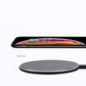 Image 3 - 10W Induction Charger Fast Qi Wireless Charger Pad Without Wired Charging Mat For Xiaomi Mi9 t Samsung S10 iPhone 11 Huawei P30