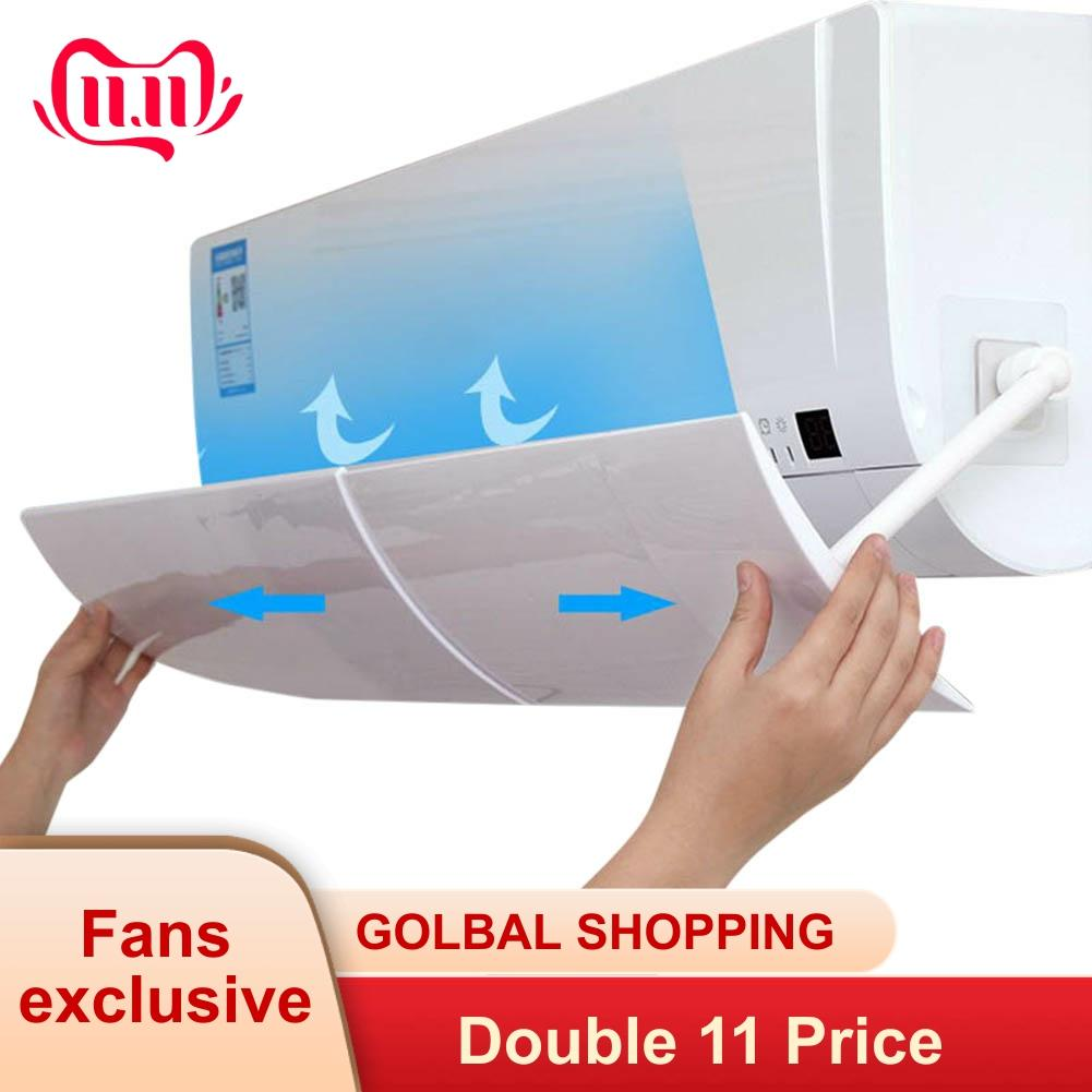 Air Conditioner Deflector Confinement Anti Direct Blowing Retractable Shield Cold Cover Wind Baffle