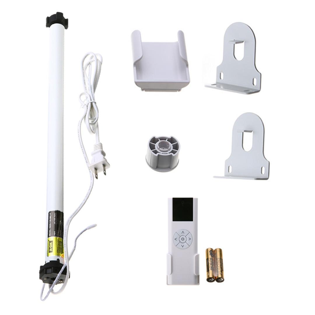 AC 100 240V Electric Shutter Motor Electric Roller Blind Shade Motor Tubular Remote Control Set