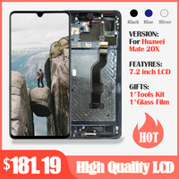 Amoled LCD Display For Huawei Mate 20 X LCD+Touch Screen Digitizer Assembly For Huawei Mate 20X LCD Mate20 X Screen Replacement