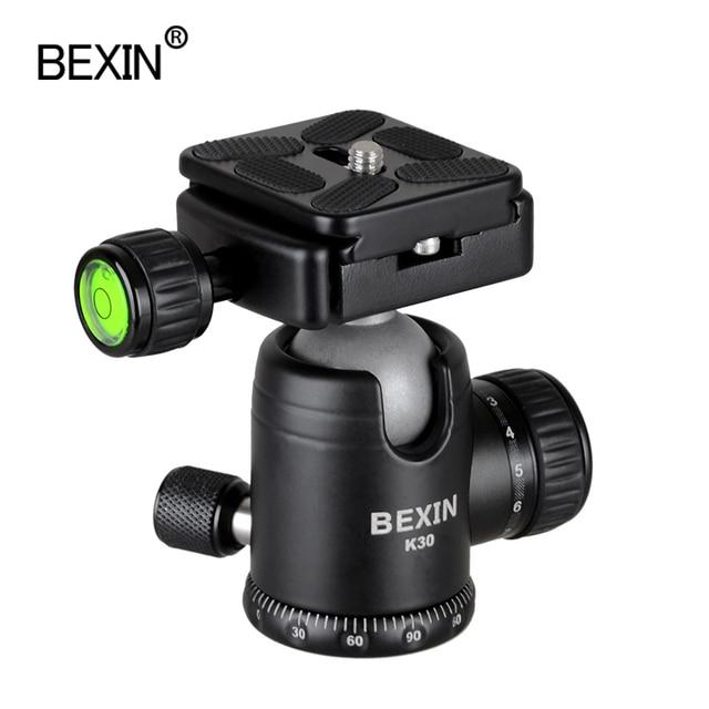 BEXIN Camera Accessories professional 360 degrees Rotation panoramic dslr camera tripod Monopod adpter mount ball head ballhead