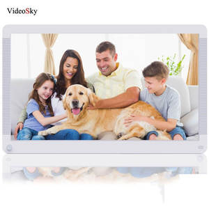 Digital-Photo-Frame Electronic Album Photo-Video 1920--1080 Clock Music 17inch HD