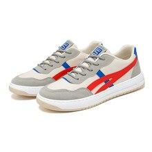 Sapatos casuais masculinos tênis de moda sapatos de caminhada ao ar livre conforto quente anti-deslizamento sapatos de lona luz lacing789