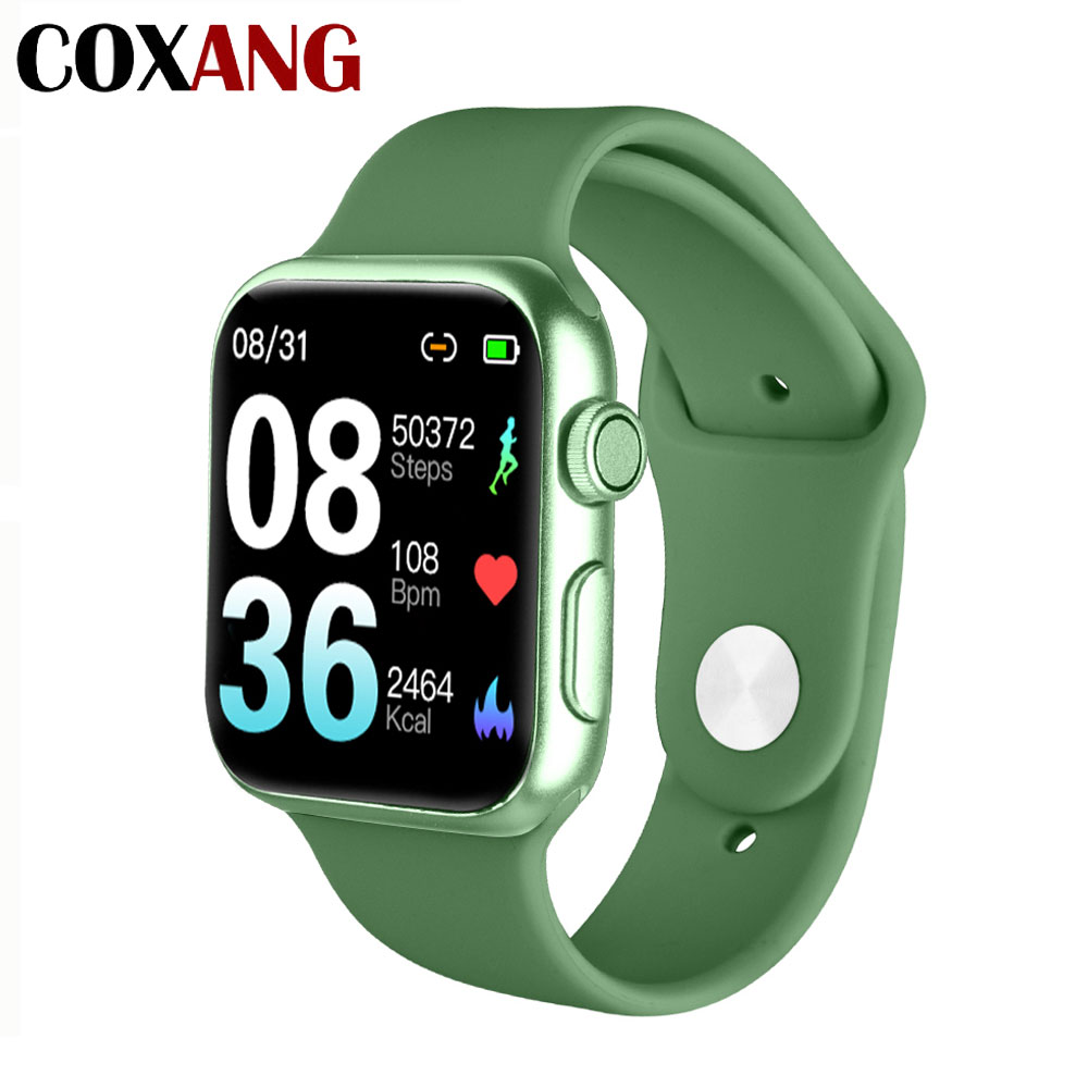 COXANG P20 Smart Watch With Pedometer Heart Rate Monitor Blood Pressure Measurement Full Touch Screen Smartwatch For Android IOS