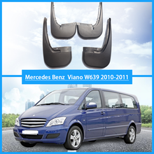 For Mercedes Benz Viano W639 mudguards car Fenders mud flaps benz w639 auto accessories 2010-2011