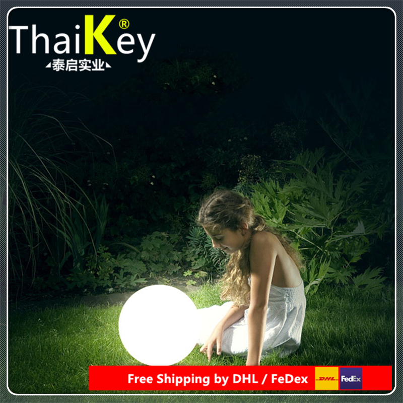 Magic RGBW Led Ball Outdoor Diameter 25cm Rechargeable,Glowing Sphere,waterproof Pool LIGHT BALL For Holiday Decor By DHL FEDEX