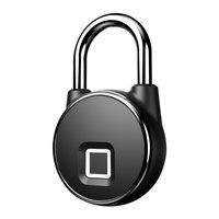 Fingerprint lock Smart door Lock Home Luggage Dormitory Locker Bearing Door Waterproof Smart lock home electronic door lock P22|Electric Lock|   -
